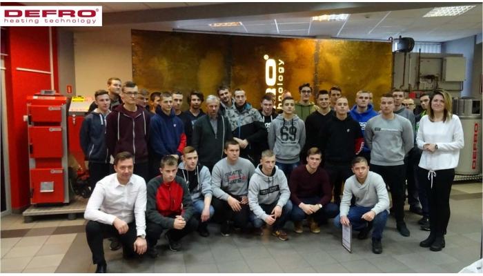 Wizyta uczniów ze Szkoły w Tarnobrzegu
