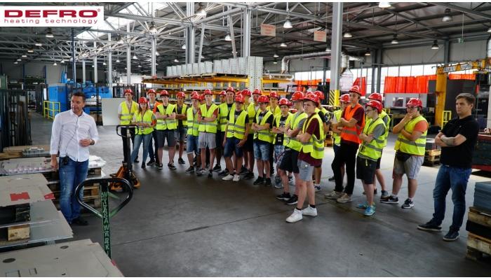 Wizyta uczniów z Technikum Informatycznego z Kielc