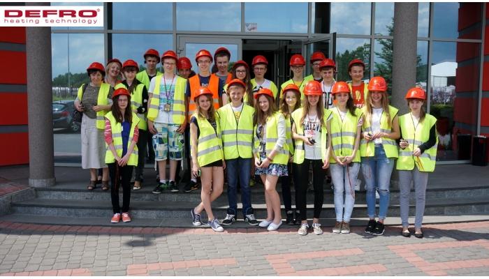 2015-06-02 Wizyta młodzieży z Zespołu Szkół w Bilczy