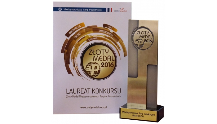 Złoty Medal za kocioł Defro Kompakt Ekopell F