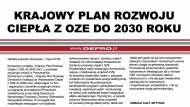 Krajowy Plan Rozwoju Ciepła z OZE do 2030 roku
