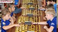 DEFRO Mecenasem I Międzynarodowego Turnieju Szachowego w Chańczy - Grupa do lat 14