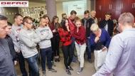 Wizyta Maturzystów z Zespołu Szkół Ponadgimnazjalnych nr 2 w Zgierzu