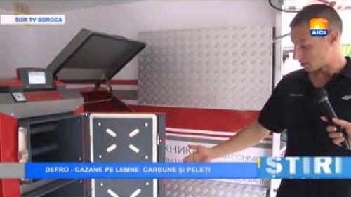 Wywiad w Mołdawskiej telewizji STIRI