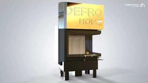 Wkład kominkowy Defro Home - Prima ME BP G - gilotyna
