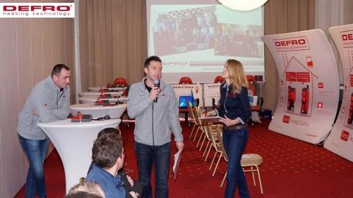Mistrzostwa instalatorów DEFRO - 2015