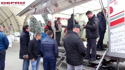 Międzynarodowe targi MOLDEXPO - Kiszyn - Mołdawia