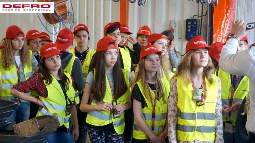 Wizyta uczniów z Zespołu Szkół Katolickich Diecezji Kieleckiej w Kielcach