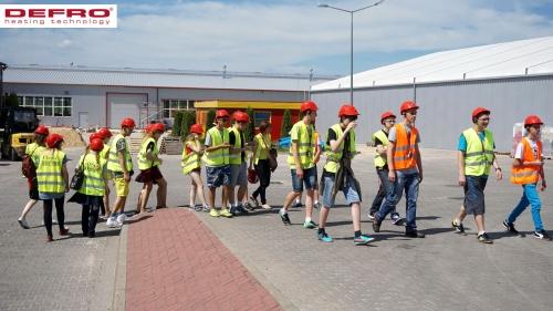 Wizyta młodzieży z Gimnazjum im Polskich Noblistów w Ćmińsku
