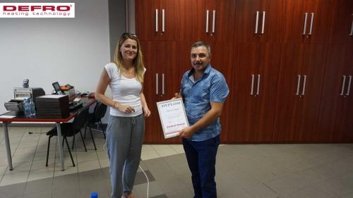 Szkolenie - Mołdawia