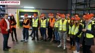Wizyta uczniów z Zespołu Szkół Informatycznych w Kielcach