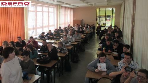 Wizyta w szkole w Jaworznie