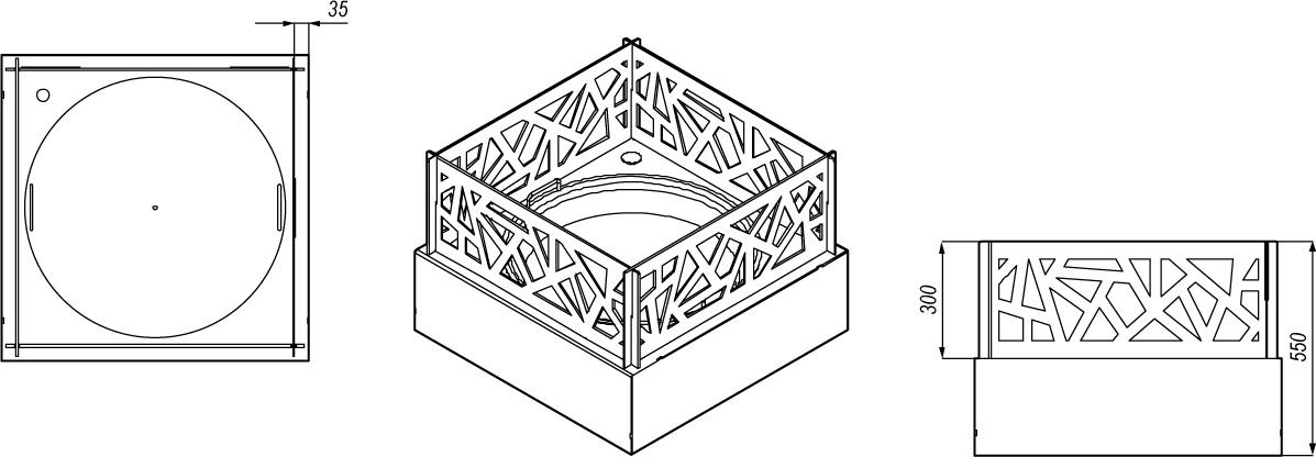 omega-67 rysunek techniczny