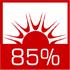 wysoka sprawność cieplna sięgająca 85% dzięki zwiększonemu odzyskowi ciepła ze spalin