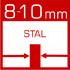 wymiennik ciepła wykonany z atestowanej stali kotłowej /gat. P265GH/ o grubości 8-10mm